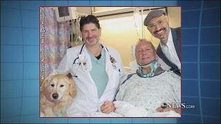 download Dog Saves Owner's Life After He Falls On Ice   ABC News Video