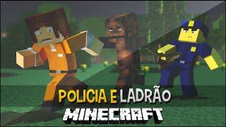 Policia e Ladrão - Cachorros Five Nights at Freddy's  !! - Minecraft