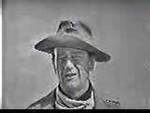 John Wayne talks about The Alamo