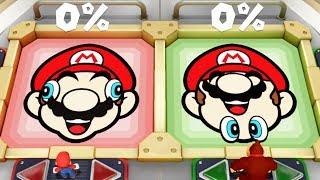 Super Mario Party - All Funny Mini Games Mario Vs Luigi Vs Donkey Kong Vs Diddy Kong (Master Cpu)