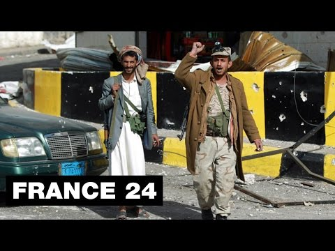 YEMEN FIGHTING - Houthi rebels take presidential palace