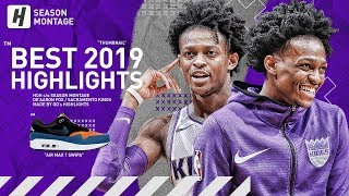De'Aaron Fox BEST Highlights & Moments from 2018-19 NBA Season!