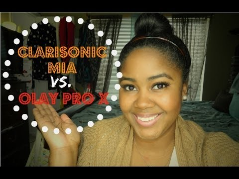 Clarisonic vs. Olay Pro X   Cleansing Brush Comparison