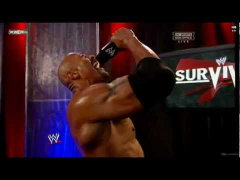 The Rock - If You Smell What The Rock Is Cooking! 2011.