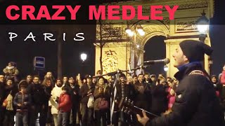 Medley (Let it be - No woman no cry - Nossa nossa - Don't worry, be happy - Lemon tree) at Paris