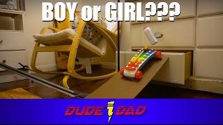 Rube Goldberg Machine Baby Gender Reveal