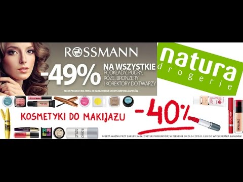 Promocje W Drogeriach - Co Warto Kupić? Rossmann/Natura