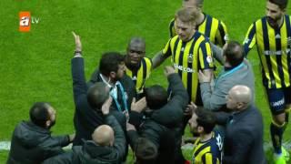 Beşiktaş: 0 - Fenerbahçe: 1 (Son 16 turu maçı)