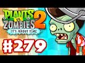 Plants vs. Zombies 2: It's About Time - Gameplay Walkthrough Part 279 - Tiki Torch-er! (iOS)