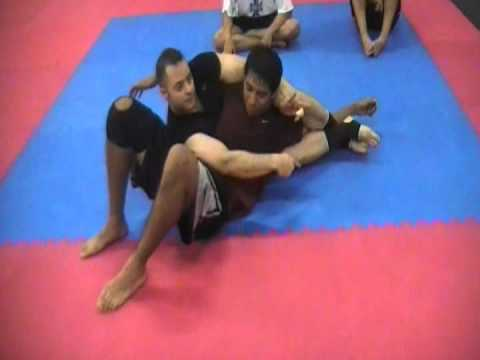 Full Crucifix choke Ron Aledo Classes in Arlington Virginia MMA, BJJ Image 1