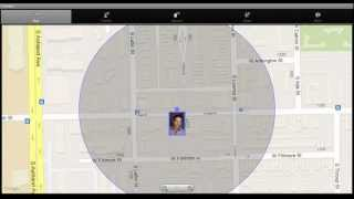 Coooeee Family and Friend GPS Tracker App - How To use the Main Map Features