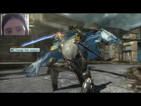 Let's Play Metal Gear Rising Revengance Part 8 Intel Gather