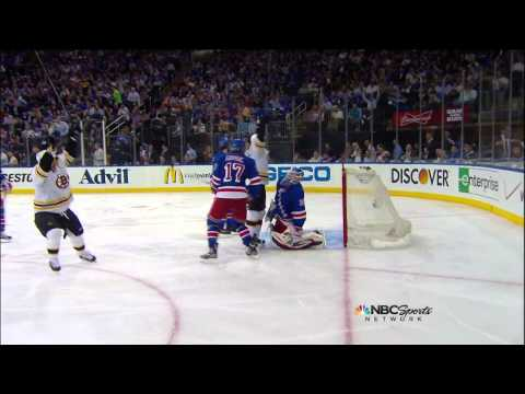Bruins-Rangers Game 3 2013 Semifinals Highlights 5/21/13