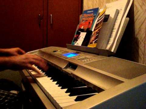 Мурка  на синтезаторе.