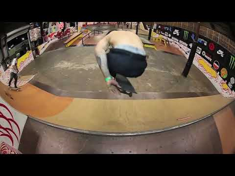 the battle: felipe nunes backside 360 kickflip raw reel