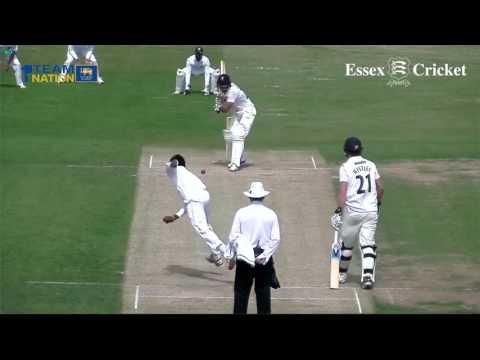 Essex v Sri Lanka, Tour match   Day Two Match Highlights