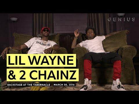 "Lil Wayne Teared Up After Hearing 2 Chainz's ""Dedication"" (Pt. 1)"