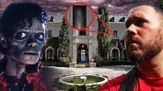 Michael Jackson's Ghost Speaks To Me At His Mansion