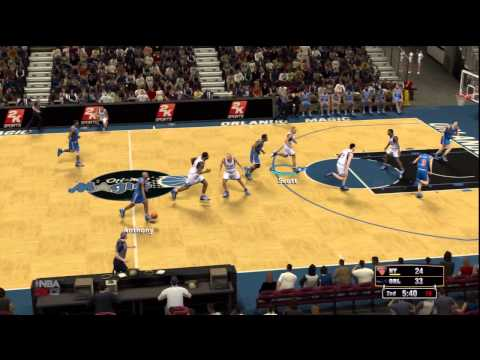 NBA 2K13 - 1995 New York Knicks VS 1995 Orlando Magic Live Gameplay