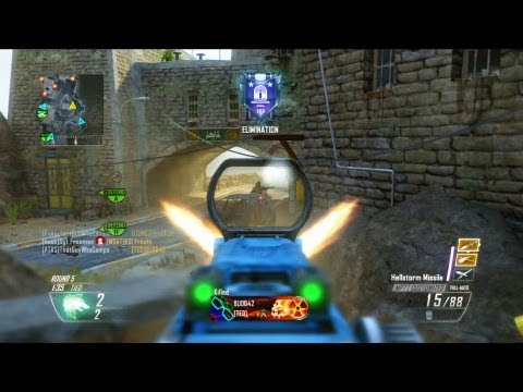 Black Ops 2 Camper's Search and Destroy 1 (Quick Clutch Comeback)