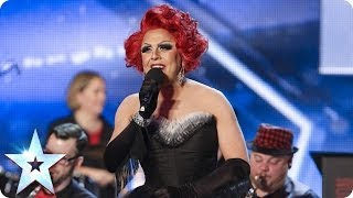 La Voix & The London Gay Big Band do New York, New York | Britain's Got Talent 2014