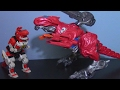 Power Rangers Movie (2017) T Rex Battle Zord Review