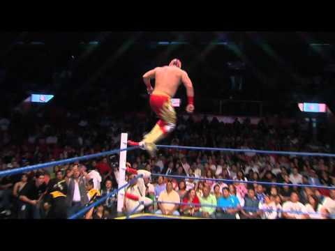 Acciones espectaculares de Lucha Libre Mexicana 01