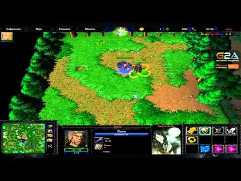 Стрим 02.04.2016.[4] Warcraft III (Vampirism NewGen, Castle Fight, BvO)