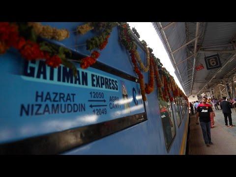 media fastest train in india
