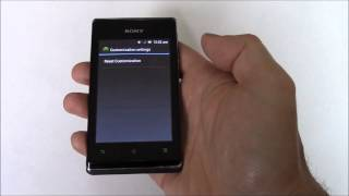 How To Hard Reset A Sony Xperia E C1504 Smartphone
