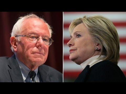 Hillary Clinton and Bernie Sanders debate after N.H.