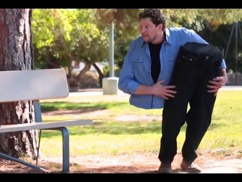 Funny Pranks Funny Videos Man Cut In Half Prank YouTube - 720p - HD