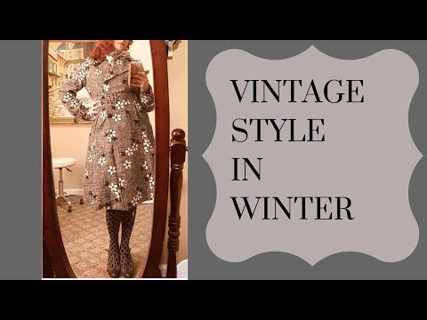 0 Winter Vintage  Fall/Winter Vintage Fashion Tips PLUS My Cold Weather Wishlist!