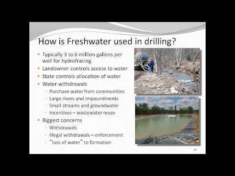 Marcellus Shale and Your Private Water Supply - Mid-Atlantic Water Program