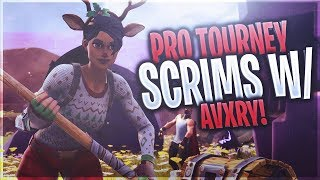 Pro Tourney Duo Scrims w/ FaZe Avxry