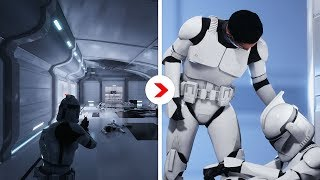 Galactic Assault Intro Cinematics Remastered | Kamino Cloning Facility [Republic]