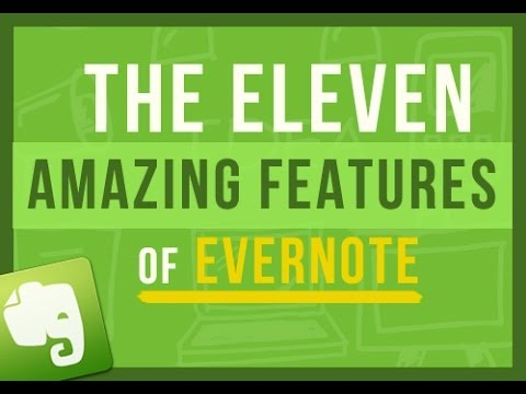 Evernote Tips: The 11 Amazing Features That Make Using Evernote So Freaking Awesome