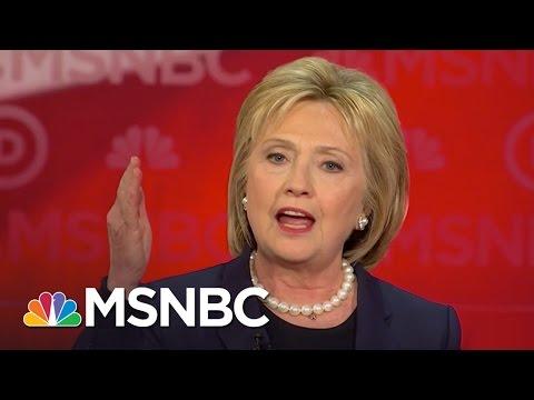 Hillary Clinton's Problem With Bernie Sanders' Promises | Democratic Debate | MSNBC
