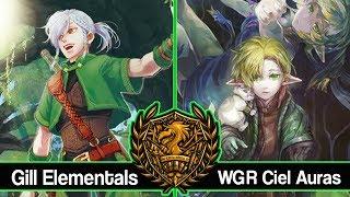 Gill Elementals Vs WGR Ciel Auras : Force of Will (TCG) Feature Match