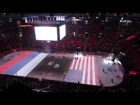 Hockey WC U20 Russia 3-2 USA / Хоккей ЧМ до 20 лет Россия 3-2 США /  UKRAINE TV-1