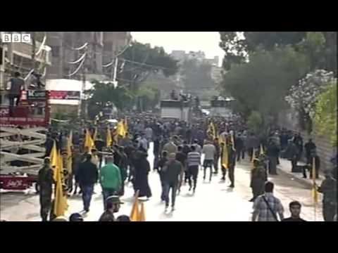 Thousands mourn Hezbollah commander at Beirut funeral   Big News