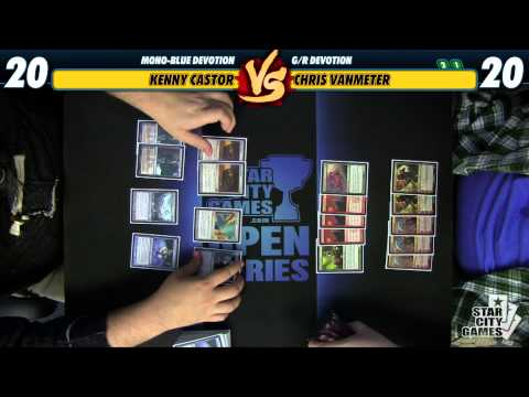 Versus Series: Kenny Castor (Mono-Blue Devotion) vs Chris VanMeter (G/R Devotion)