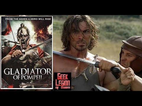 GLADIATOR OF POMPEII ( 2007 Victor Alfieri ) B-Movie review by Geek Legion of Doom
