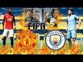 FIFA 17 RIC vs DAIZER   Manchester United VS Manchester City