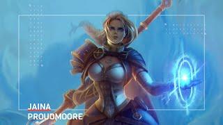 Jaina Proudmoore from World of Warcraft Speedpaint