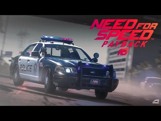 ZATRZYMAŁA MNIE POLICJA | Need for Speed Payback #16