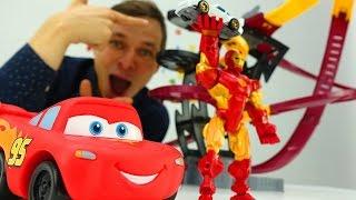 МАШИНКИ Тачки и ХОТ ВИЛС! Машинки и игрушки для мальчиков: ИСПЫТАНИЕ новой трассы для ХОТ ВИЛС!