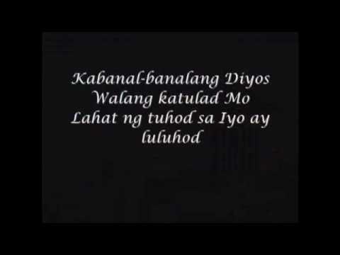 Tagalog Christian Song - Minamahal Kita & Kabanal-banalang Diyos video