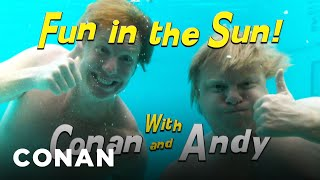 Fun In The Sun With Conan & Andy - CONAN on TBS