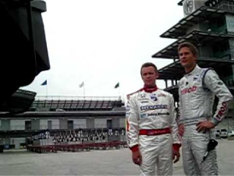 Vision Racing Blooper with Ryan Hunter-Reay & Ed Carpenter